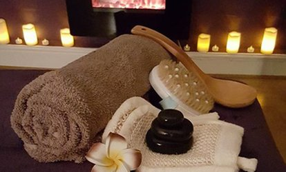 image for 30-Minute Hot Stone Back, Neck and Shoulder Massage with a 30-Minute Express Facial at Elexa Elegance Beauty (65% Off)