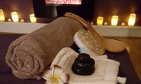 30-Minute Hot Stone Back, Neck and Shoulder Massage with a 30-Minute Express Facial at Elexa Elegance Beauty (65% Off)