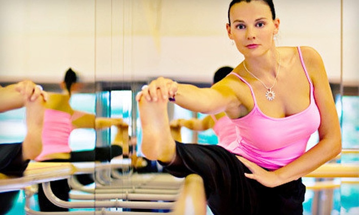 Local Barre - Corner Barre: 3 or 10 Barre or Piloxing Fitness Classes at Local Barre (Up to 56% Off)