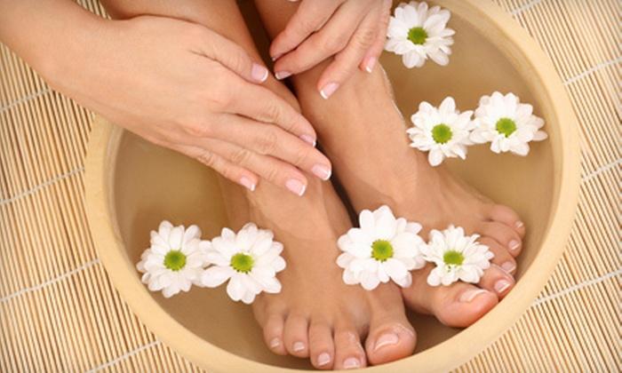 Divine Nails & Spa - San Diego: $10 Toward Nail or Waxing Treatments