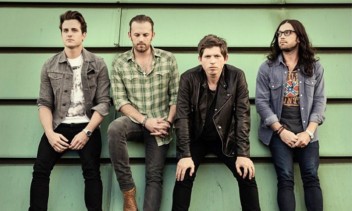 """Kings of Leon - MIDFLORIDA Amphitheatre: Kings of Leon: 2014 """"Mechanical Bull"""" Tour at MIDFLORIDA Amphitheatre on Friday, September 5, at 7 p.m. (Up to 50% Off)"""