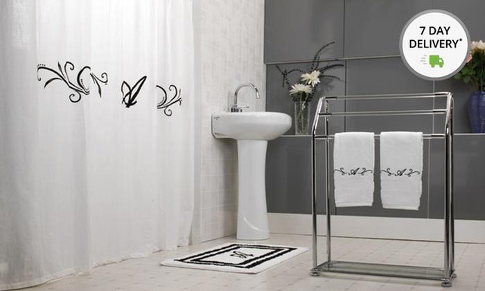 16-Piece Monogrammed Bath Sets: Monogrammed Bath Set. Multiple Letters Available. Free Returns.