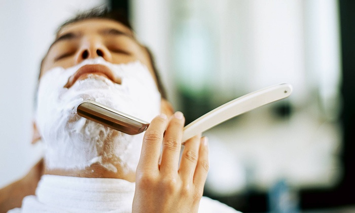 Shay's Studio - Nashville: One or Three Men's Haircuts with Hot-Towel Neck Shaves at Shay's Studio (Up to 55% Off)