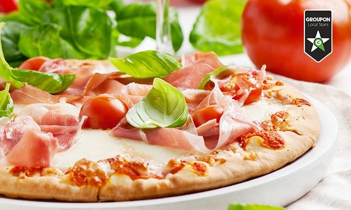 A Modo Mio - Più sedi: Menu con pizza, birra, patatine e donut (sconto fino a 68%). Valido in 12 sedi di A Modo Mio