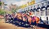 Santa Anita Chili Cookoff - Santa Anita Park: Horseracing Package with Box Seats and Programs for Two or Four at Santa Anita Park (Up to 61% Off)