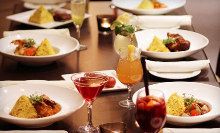 Indian Dinner for Two or Four with Appetizers and Desserts at 5th Elementt Restaurant (Up to 51% Off)
