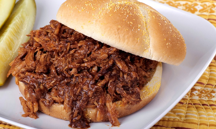 Stretch's BBQ Barn - Amarillo: Two, Four, or Six Pulled Pork Sandwiches at Stretch's BBQ Barn (33% Off)