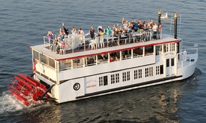 Lady of the Lake Cruise: Narrated Sightseeing Cruise for Two or Sunset Dinner Cruise for Two from Lady of the Lake Cruise (Up to 45% Off)