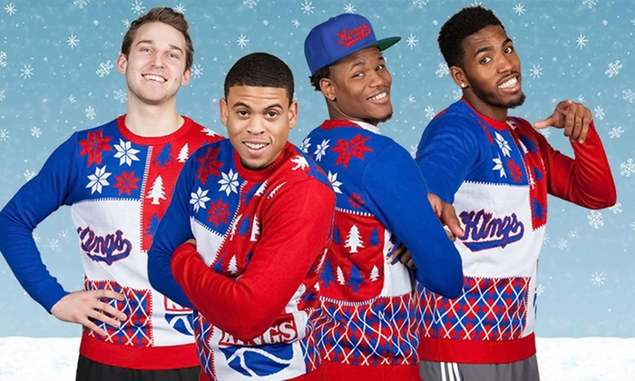 "Sacramento Kings vs Milwaukee Bucks ""Ugly Sweater Night"" - Sleep Train Arena: One Ticket to a Sacramento Kings Game at Sleep Train Arena on December 18 at 7 p.m. (Up to 53% Off)"