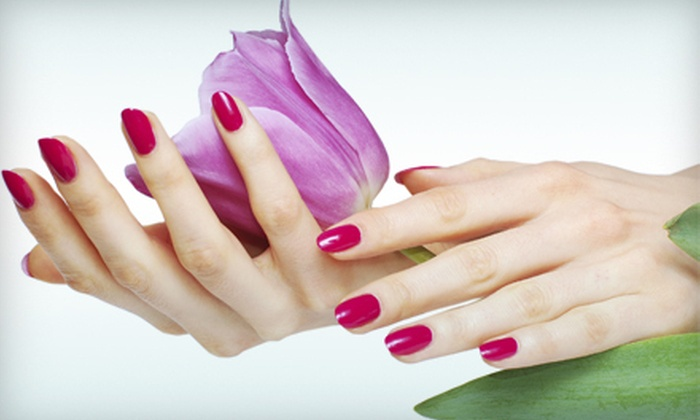 Stephanie at Euphoria Salon & Spa - Tulsa: One Basic Manicure or Spa Pedicure from Stephanie at Euphoria Salon & Spa (Up to 51% Off)