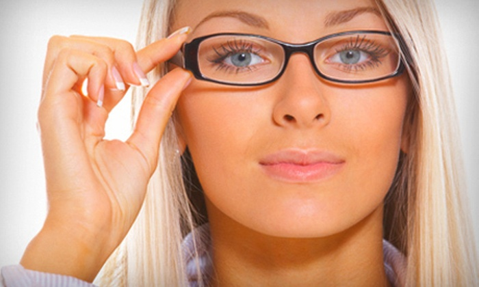 Mulqueeny Eye Centers - Saint Louis: $39 for Eye Exam and $150 Toward Prescription Lenses and Frames at Mulqueeny Eye Centers in Creve Coeur ($320 Value)