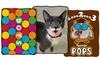 Candy or Pet-Themed Throw Blanket: Candy or Pet-Themed Throw Blanket