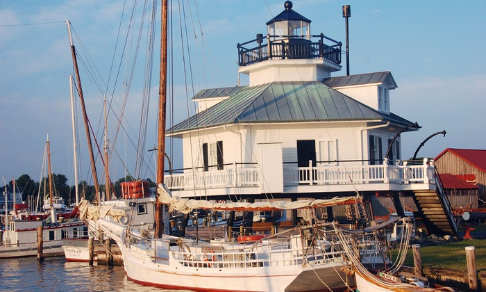 Chesapeake Bay Maritime Museum - St. Michaels: Chesapeake Bay Maritime Museum Visit for Two or Four (Up to 50% Off)