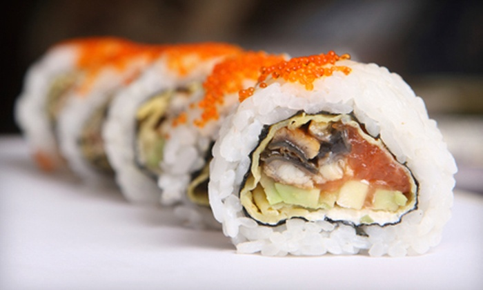 Kyjo's Japanese, Thai and Sushi Bar - Concord: Pan-Asian Cuisine at Kyjo's Japanese, Thai, and Sushi Bar (Up to 54% Off). Two Options Available.