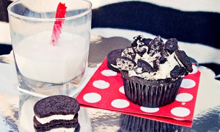 One or Two Dozen Gourmet or Filled & Premium Cupcakes at Kreative Kupcakes (Up to 46% Off)