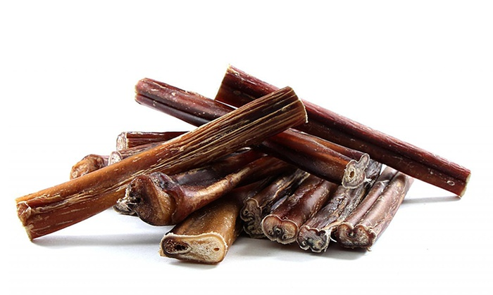 super crunchy usa bully sticks groupon goods. Black Bedroom Furniture Sets. Home Design Ideas