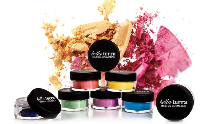 Bella Terra Mineral Cosmetics: Mineral Cosmetics from Bella Terra Mineral Cosmetics (Up to 78% Off). Three Options Available.