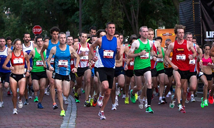 Life Time Fitness Torchlight 5K - Central Chicago: $15 for Life Time Fitness Torchlight 5K (Up to $30 Value)