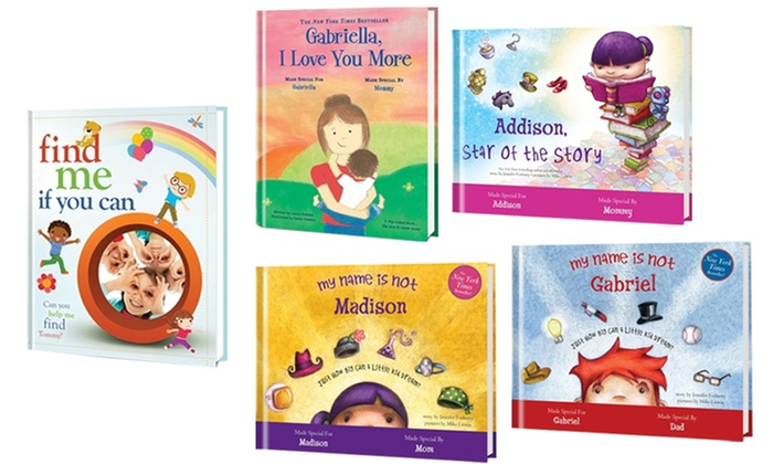 Put Me In The Story: One, Three, or Five Personalized Kids Books from Putmeinthestory.com (Up to 61% Off)