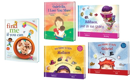 One, Three, or Five Personalized Kids Books from Putmeinthestory.com (Up to 61% Off)