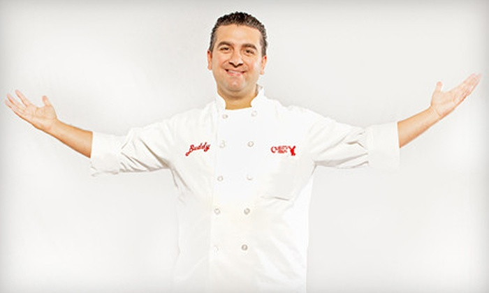 Buddy Valastro: The Cake Boss - The Family Celebrations Tour - Newport News: Buddy Valastro: The Cake Boss at Ferguson Center for the Arts on November 12 at 7:30 p.m. (Up to 39% Off)