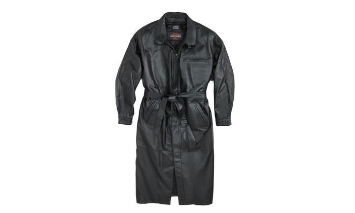 A and G Clothing - In-Store Pickup: $100 for a Full-Length Leather Coat with In-Store Pickup at A&G Clothing ($500 Value)