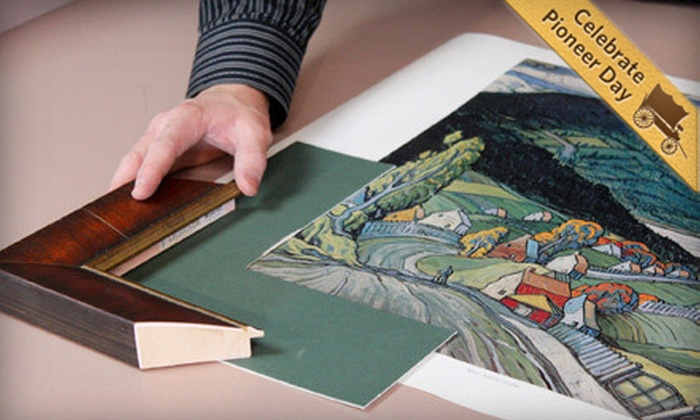Art and Frame Station - Murray: $39 for $100 Worth of Custom-Framing Services at Art and Frame Station in Murray