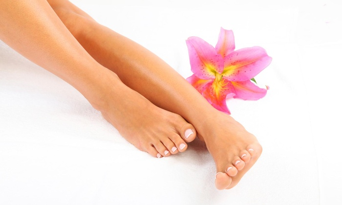 Natural Nails By Whitney - Starcrest: A Manicure and Pedicure from Natural Nails by Whitney at Urban SpaSalon (50% Off)