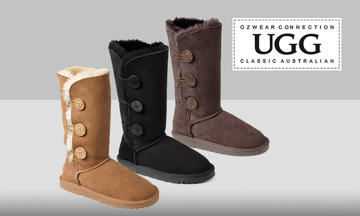 e9bc4260085 $129 UGG Three-Button Boots in Choice of Colour (Don't Pay $319)