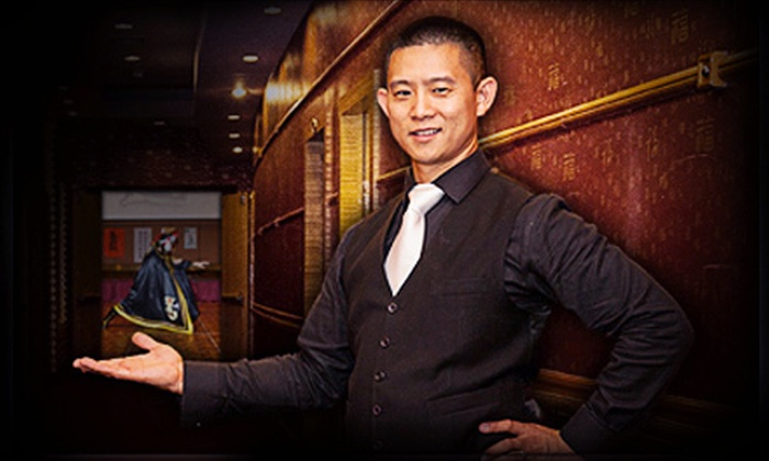 Dan Chan Magic Man - Multiple Locations: Chinese Dinner and a Magic Show for Two, Four, or Eight from Dan Chan Magic Man (Up to 57% Off)