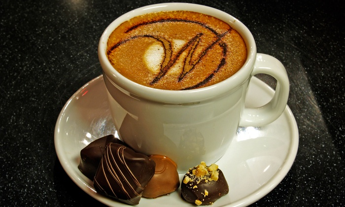 Winans Fine Chocolates & Coffees - Multiple Locations: $11 for $20 Worth of Coffee and Tea Drinks at Winans Fine Chocolates & Coffees
