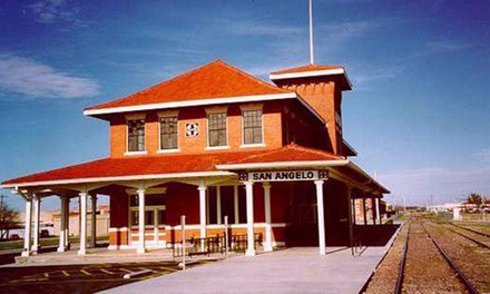 Admission for Two or Four, or One-Year Family Membership to the Railway Museum of San Angelo (Up to 50% Off)
