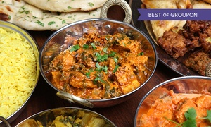 Dine India: Dine India: Three-Course Set Meal for Two or Four