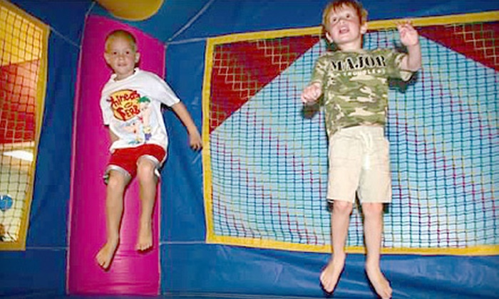 Space Kidets - Matthews: $16 for Four Open-Bounce and Arcade Passes at Space Kidets in Matthews ($32 Value)