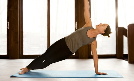 Eight Classes or One Month of Unlimited Yoga Classes at Savannah Yoga Room (Up to 66% Off)