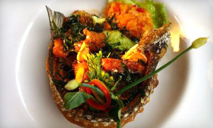 Little Basil Thai Cuisine - Kips Bay: $15 for $30 Worth of Thai Cuisine and Drinks for Dinner at Little Basil Thai Cuisine