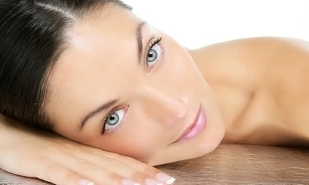 One or Three Diamond File Express Facial Treatments at Belle Visage (Up to 78% Off)