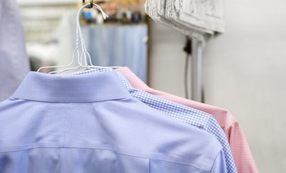 <strong>Dry Cleaning</strong>, Fluff and Fold <strong>Laundry</strong> Services, or Two Coat <strong>Cleanings</strong> at Cleaners on 8th (Up to 50% Off)