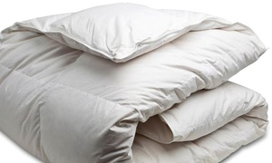Canadian Down & Feather Company: Goose Feather Duvet for a Twin, Double, Queen, or King Bed at Canadian Down & Feather Company (Up to 61% Off)