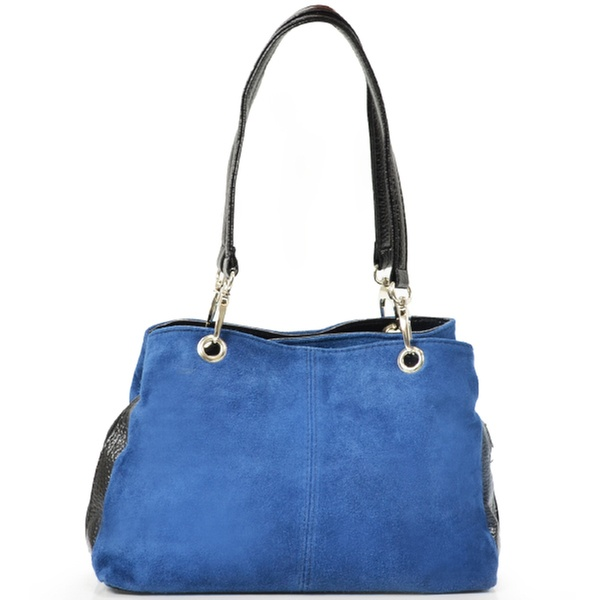 ba7a5366f5 Sac en cuir nubuck italien CARLA BELOTTI (78% de réduction) | Groupon  Shopping