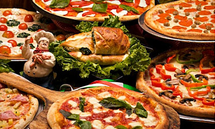 Luciano - Northwest Side: $10 for $20 Worth of Neapolitan Pizzas and Italian Cuisine at Luciano