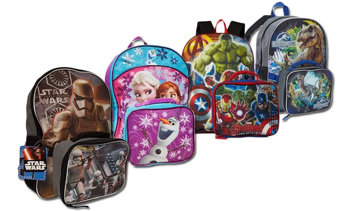 Kids' Backpack with Lunch Bag | Groupon Goods