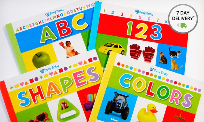 Busy Baby 4-Book Collection: Busy Baby 4-Book Collection