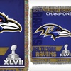 $26 for a Ravens Champion Tapestry Throw