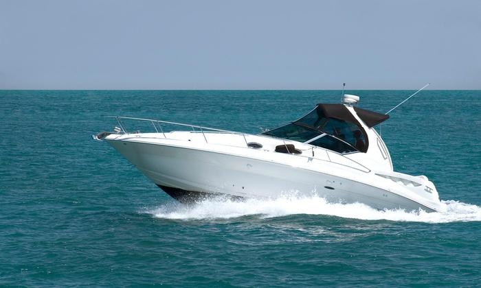 Moes Yacht Rental - Flamingo / Lummus: $539 for $980 Worth of Yacht Rental — moes yacht rental in