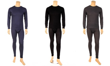 Men's Pro-Wear Cotton-Blend Thermal Underwear (2-Piece)