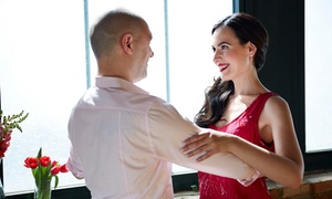 Eleanor Pernia Studio Dance: Four-Week Introductory Ballroom Dancing Programs for One or Couples at Eleanor Pernia Studio Dance (50% Off)