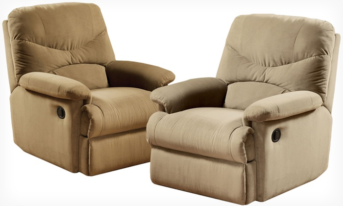 ... Light Acme Microfiber Recliner $199.99 for an Acme Microfiber Recliner in Beige Chocolate Light & Acme Microfiber Recliner - Acme Microfiber Recliner | Groupon islam-shia.org