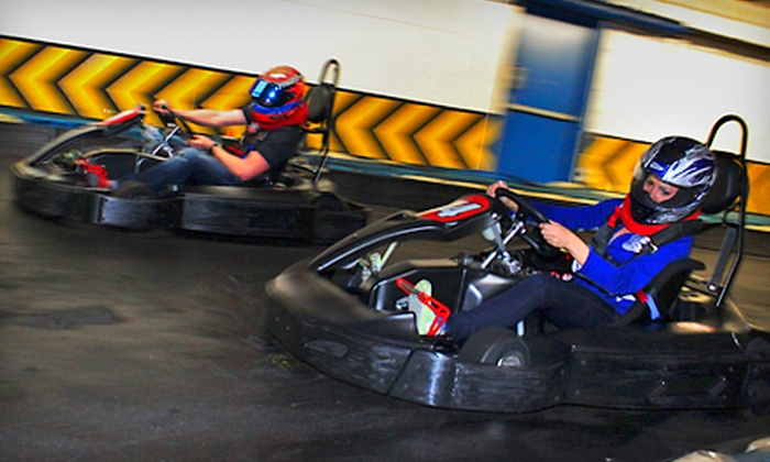 Fastimes Indoor Karting - Indianapolis: $20 for Two Eight-Minute Races at Fastimes Indoor Karting (Up to $44 Value)