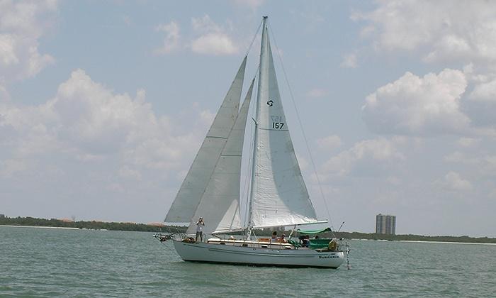 Sundance Sailing - Estero Island: $181 for a Half-Day Sailing Charter for Up to Six from Sundance Sailing ($330 Value)